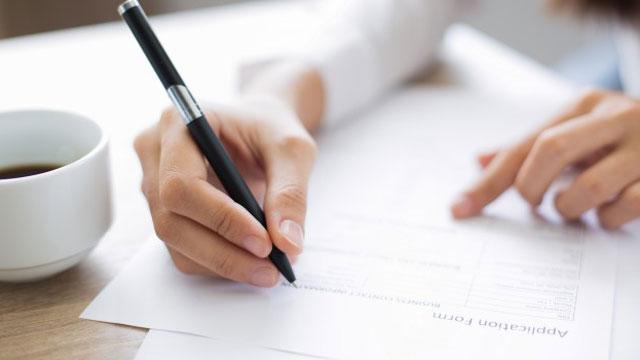 Fill Social Security application form